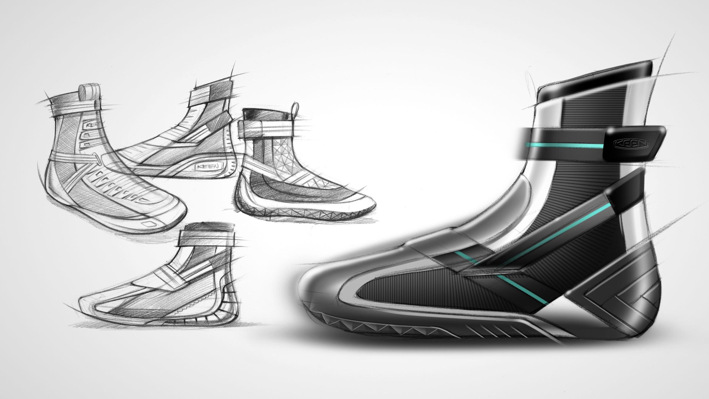 keen shoe industrial design demo 14