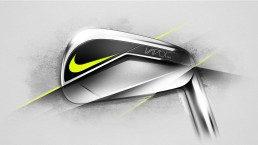nike vapor iron golf club industrial design 01